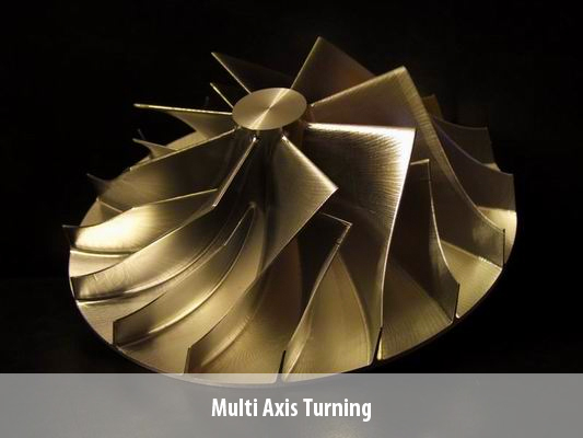 Multi Axis Turning